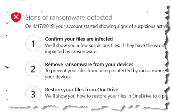 Is OneDrive safe against ransomware?