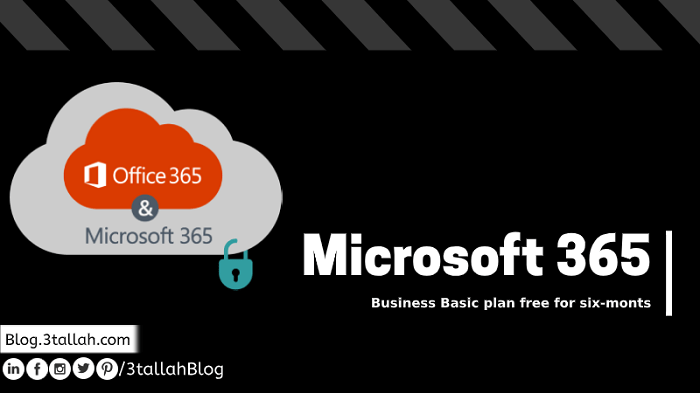 For a limited time, Microsoft is offering a free six-month for M365 Business Basic plan