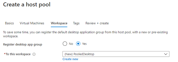 Deploy a Windows Virtual Desktop Host pool with the custom image